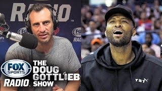 Doug Gottlieb & Ric Bucher react to Demarcus Cousins' ACL Injury