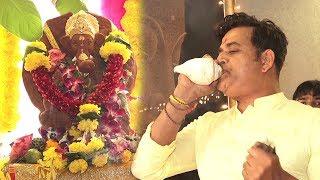 Bhojpuri Atcor Ravi Kishan Ganpati Puja Celebration At Home Inside