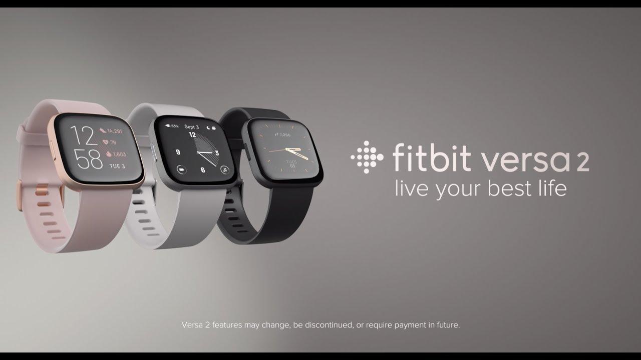 Fitbit Versa 2 | Health & Fitness Smartwatch