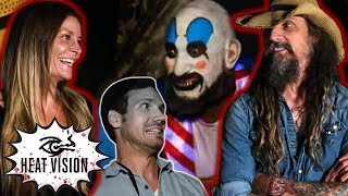 Rob Zombie's First Ever Visit To The 'House Of 1,000 Corpses' Maze | Heat Vision