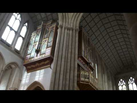 Organ Demonstration - St. Edmundsbury Cathedral