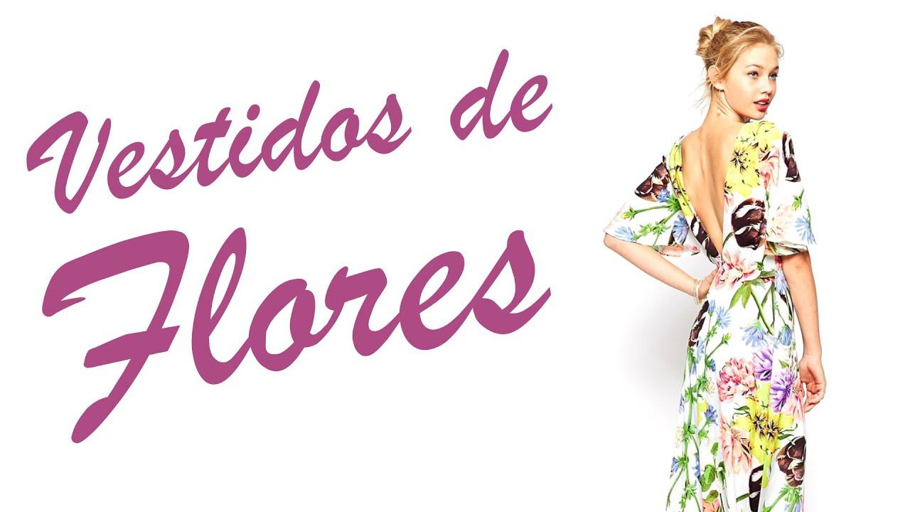 Vestidos de Flores   Looks de Boda para Invitadas - YouTube