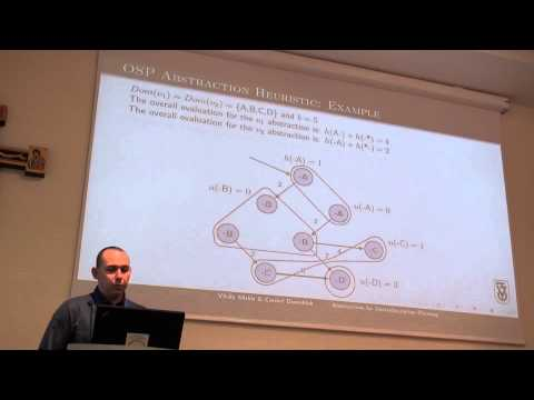 ICAPS 2013: Vitaly Mirkis - Abstractions for Oversubscription Planning