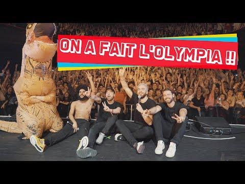 Youtube: ON A FAIT L'OLYMPIA!