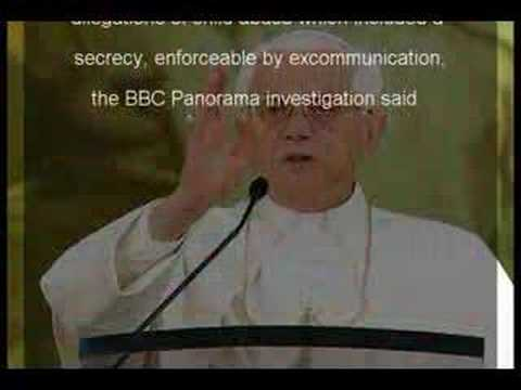 UNITE AND STOP THE POPE AND PRIESTS FROM RAPING OUR KIDS