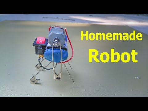 Diy How To Make Mini Robot Self Moving Easy Science Projects For Kids