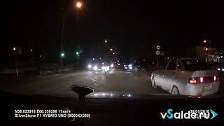 На «Крузаке» по тротуару 30.01.2018 Верхняя Салда