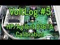 VoltLog #5 - HP Agilent E3611A Power Supply Teardown and Calibration