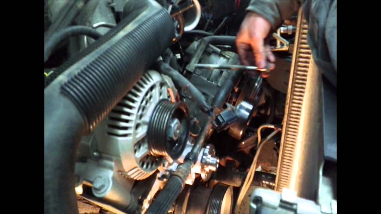 Ford Ranger 3 0 Water Pump Youtube