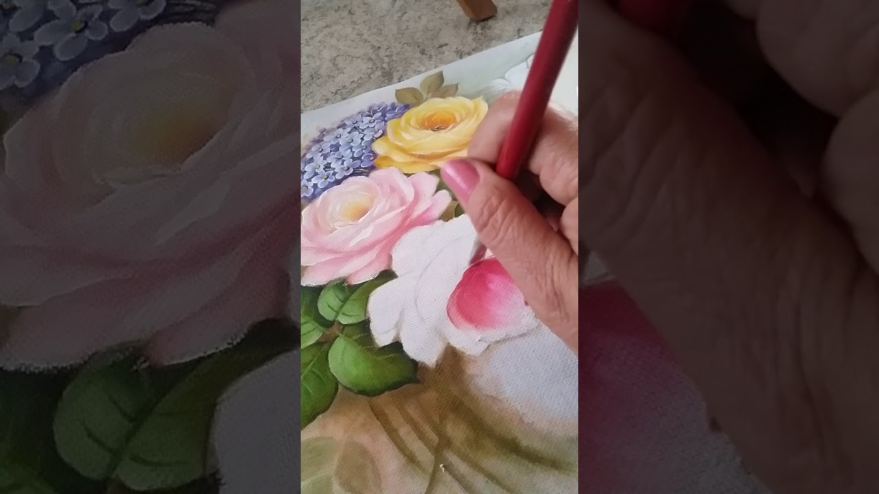 Preferência Pintando Rosas com Dalva Machado - YouTube RX32