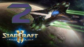 Прохождение StarCraft 2: Предчувствие тьмы #2 - Призраки в тумане [Пролог к Legacy of the Void]