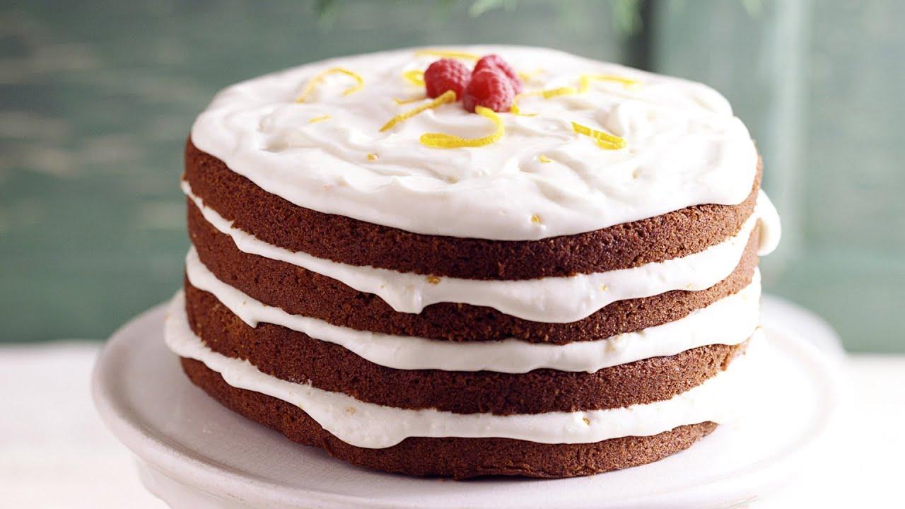 Домашний торт без выпекания. GuberniaTV - YouTube