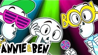 Funny Skeleton Dance | CHUMBALA CACHUMBALA | Las Calaveras | Halloween Songs for Kids by Annie & Ben