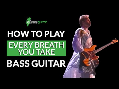 how-to-play-every-breath-you-take-on-bass-guitar