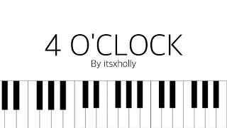 4 O'CLOCK - RM & V - Piano Tutorial