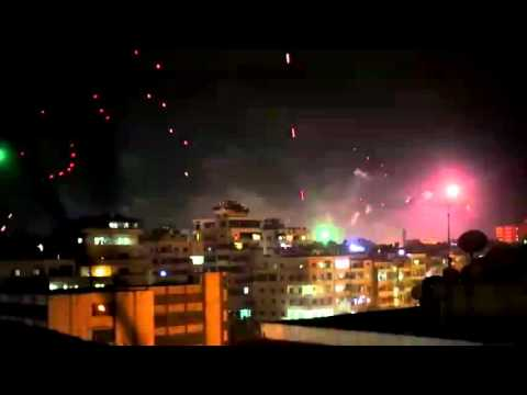 New Year's Eve celebrations in Latakia City
