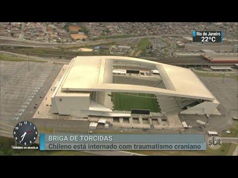 Imagens de arrastão em loja da Arena Corinthians são divulgadas   Primeiro Impacto (04/09/18)