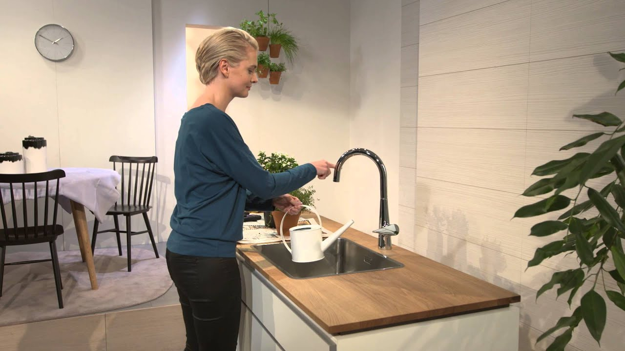 Hansgrohe Talis S 260 Single Lever Kitchen Mixer 72810000 Youtube