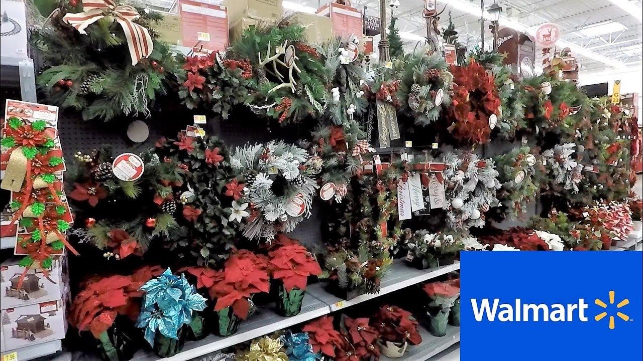 WALMART CHRISTMAS WREATHS GARLAND DECORATIONS HOME DECOR ...