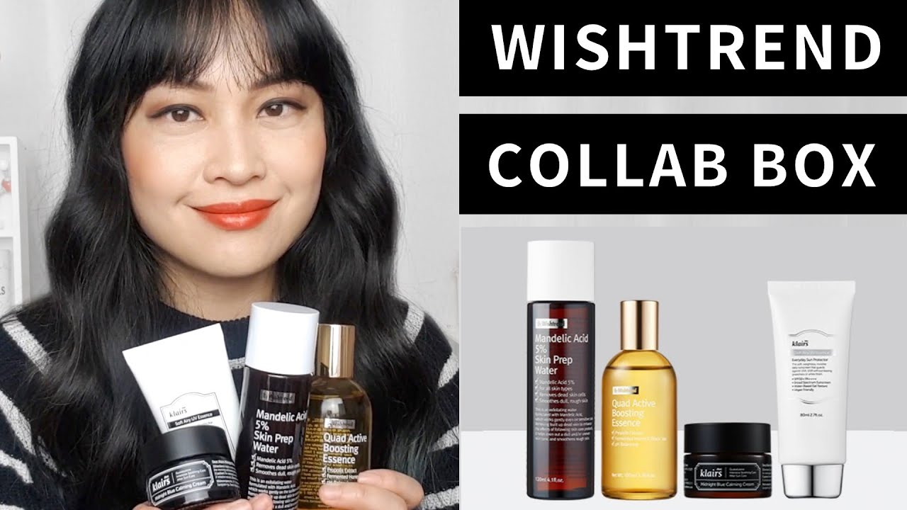 Boost Your Base Box - Wishtrend Collaboration   Lab Muffin Beauty Science