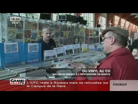 Salon du disque l 39 hippodrome de marcq youtube for Hippodrome de salon