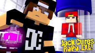 Minecraft .EXE - JACK CURES ROPO .EXE, LITTLE ROPO IS BACK!!