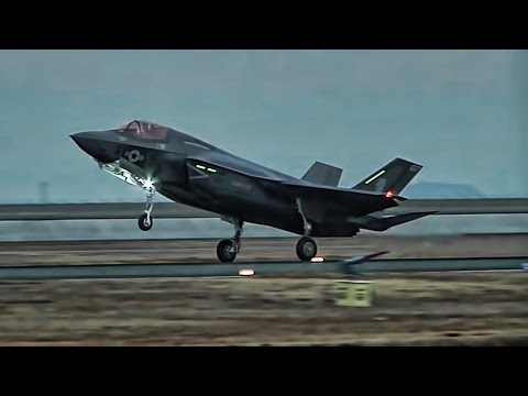 American F-35B Lightning II Fighter Jets Arrive In Japan