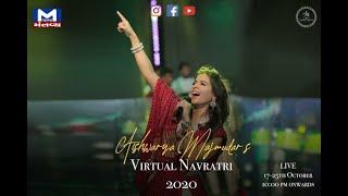 Virtual Navratri 2020 | Aishwarya Majmudar | Mantavya News | VijayaDashmi 🪔