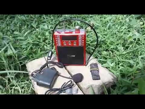Medium Speaker Audio Al Quran Hafalan bisa rekam repeat 30 juz anak dewasa fleco F K39