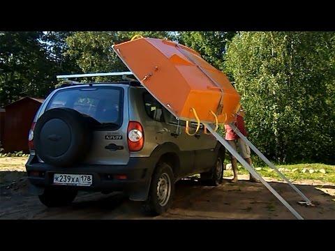 перевозка лодки пвх на рейлингах