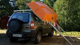 Homemade Boat Loader / Устройство для погрузки и перевозки лодки на крыше авто