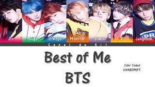 Video Best of Me - BTS (ft. The Chainsmokers) [Color Coded HAN|ROM|PT Lyrics] | by: Gil download MP3, 3GP, MP4, WEBM, AVI, FLV Juni 2018