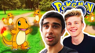 CHARMANDER NEST!? - Pokemon GO With Lachlan