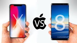 iPhone X vs Samsung Galaxy Note 8 - Which One to Get?