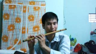 Chào em cô gái Lam Hồng (sáo trúc)
