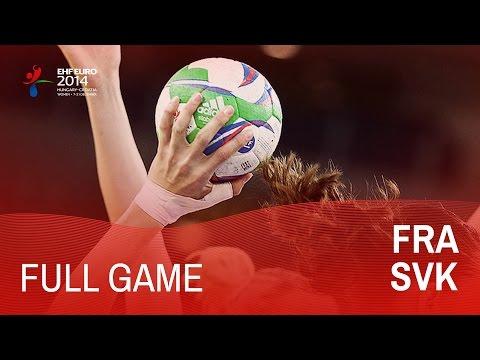 Group D: France vs Slovakia 21:18 | Women's EHF EURO 2014