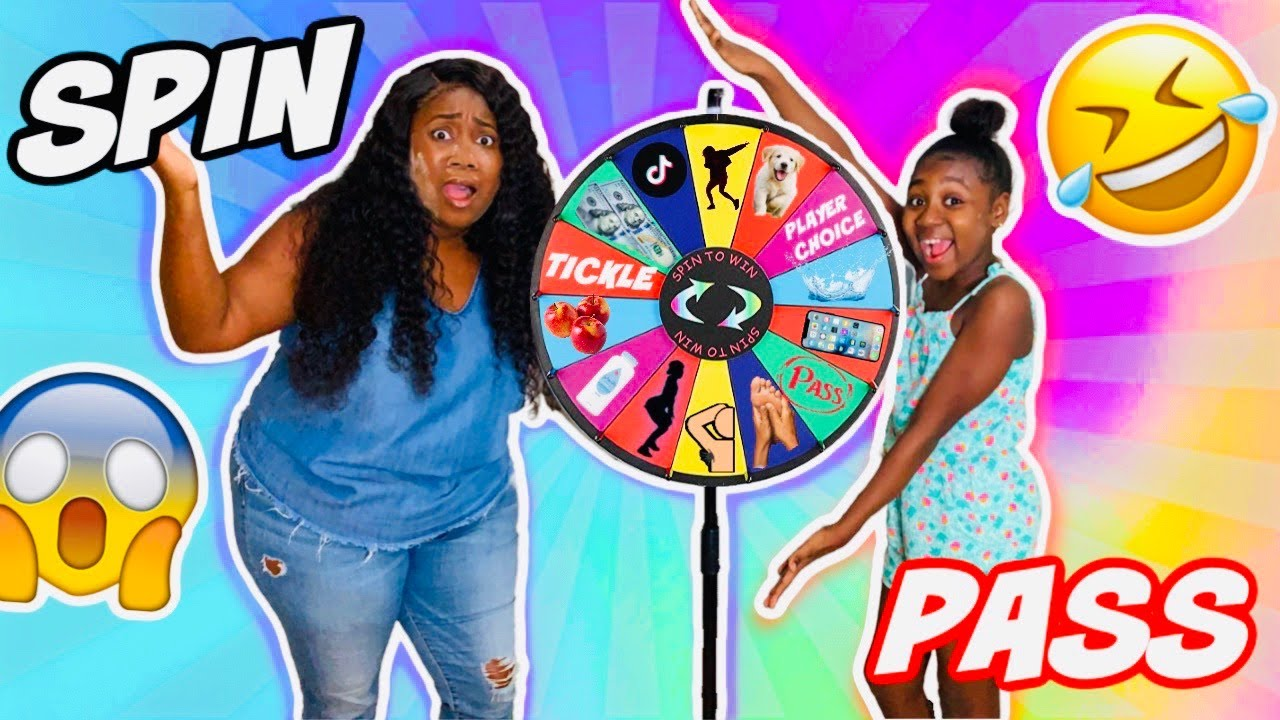 SPIN THE MYSTERY WHEEL CHALLENGE (1 SPIN = 1 DARE)
