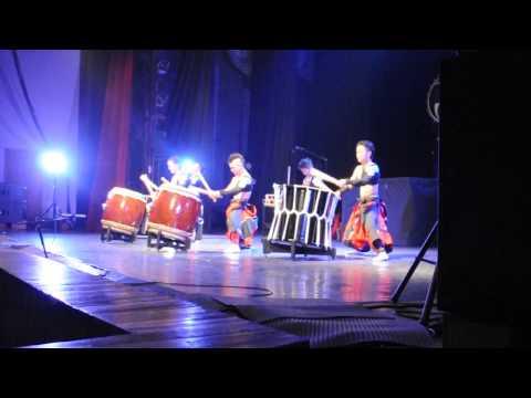 ASKA Japanese Drum Troupe - Vladivostok, 09.04