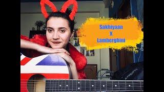 Sakhiyaan X Lamberghini Female Guitar Cover Jannat Khan
