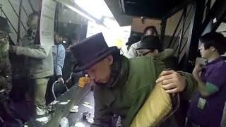 20120128 柏PALOOZA楽屋にて この後イーグルは衣装を忘れました.