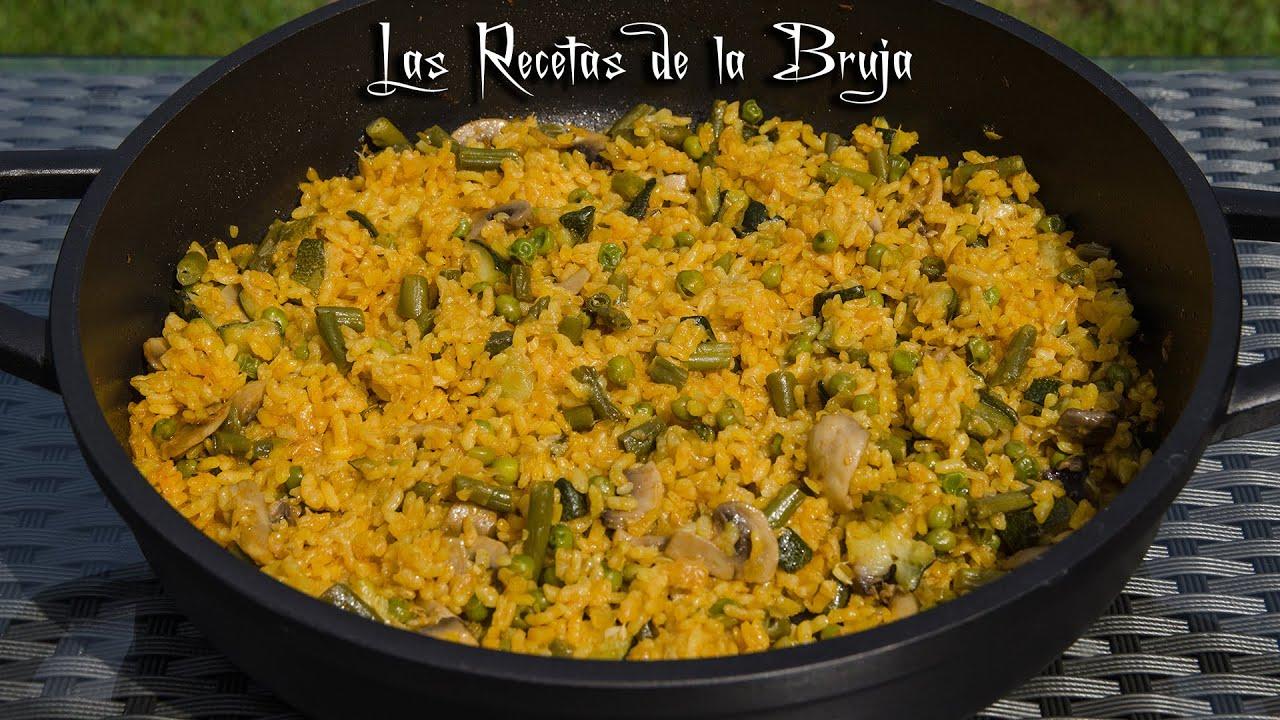 Cocina Sana Y Facil | Arroz Al Horno Con Verduras Receta De Cocina Facil Sana Ligera