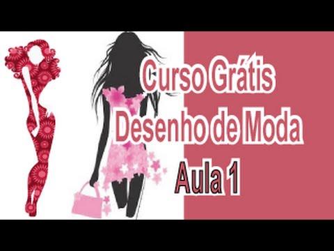 Curso Grátis - Desenho De Moda - Aula 1 - Proporções