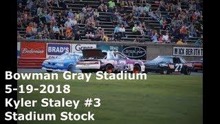 Retaliation Kyler Staley #3 Stadium Stock Bowman Gray Stadium 5-19-2018
