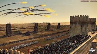 ЛУЧШИЙ МОД ПРО СРЕДНЕВЕКОВЬЕ! ⚔ Medieval Kingdoms! Эпическая осада города Зафар - Total War: Attila
