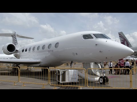 Beyond First Class in Qatar Executive's Gulfstream G650ER Private Jet – BJT