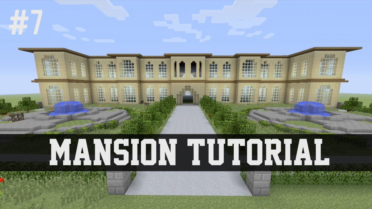 Mansion tutorial minecraft 7 xbox 360 xbox one ps3 ps4 for Tuto maison moderne minecraft xbox 360