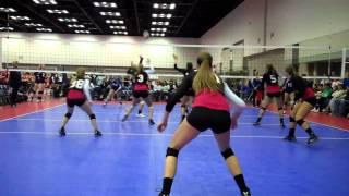 Marisa Aiello #12 Middle Blocker Indianapolis Volleyball Qualifier