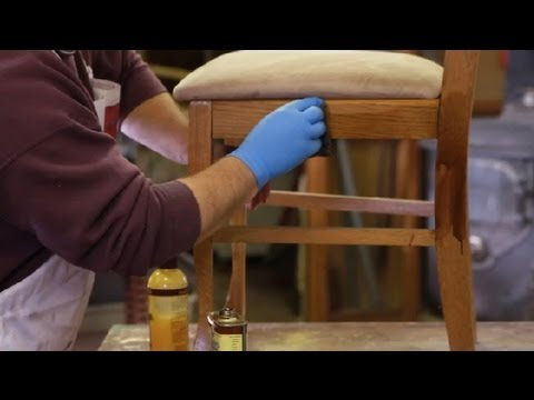Etonnant How To Repair Oak Wood : Furniture Repair Tips