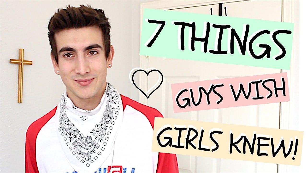 Download 7 THINGS GUYS WISH GIRLS KNEW