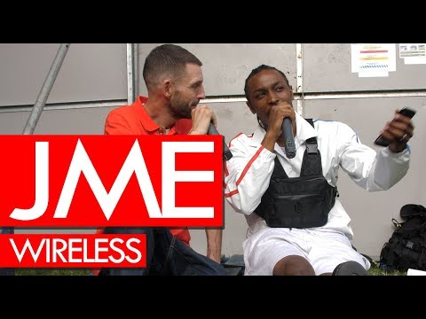 JME on Grime MC album release, family, the industry & streaming - backstage at Wireless Mp3
